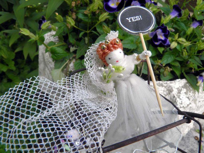 Violets Wedding Spun Cotton Bride_72