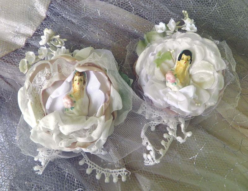 Violets Wedding Bride Brooches_72